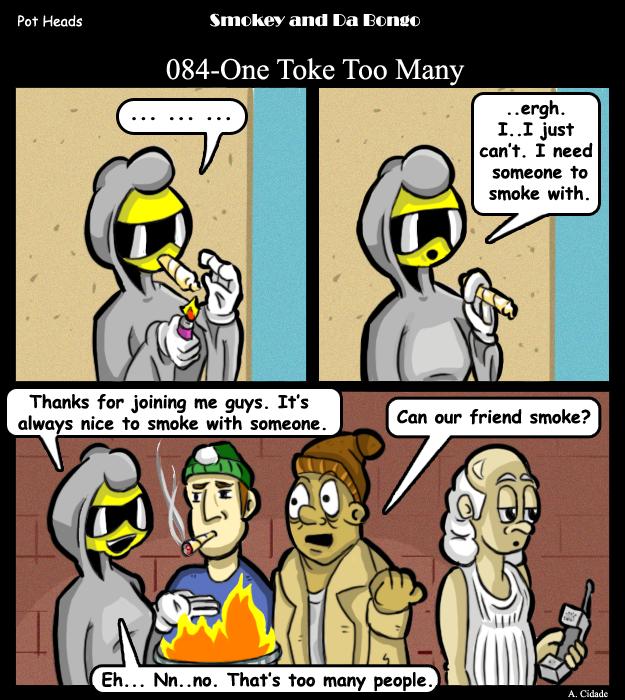 084-One Toke Too Many