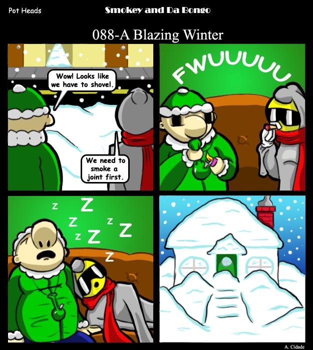 088-A Blazing Winter