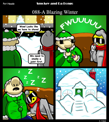 088-A Blazing Winter